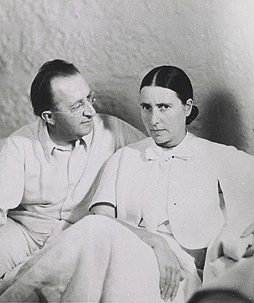 Erich and Luise Mendelsohn, around 1935